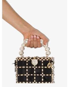 Black Holli Embellished Mini Bag