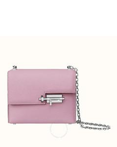 Verrou Chaine Mini Bag- Mauve Sylvestre