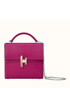 Ladies Cinhetic Shoulder Bag In Rose Pourpre