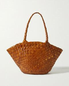 Egola Woven Leather Tote