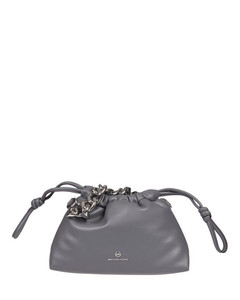 Women's Chain Cross Body Bag - White