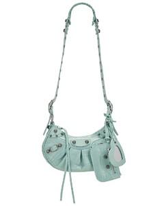 Black Rey Leather Shoulder Bag