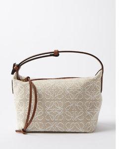 Half Moon Box Leather Shoulder Bag