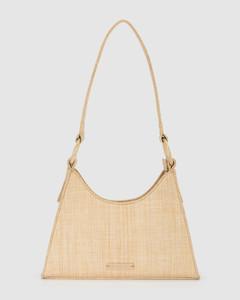 BISCAY SHOULDER BAG Natural