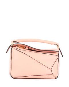 Pink mini Puzzle bag