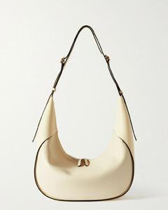 Net Sustain Lois Large Leather Shoulder Bag