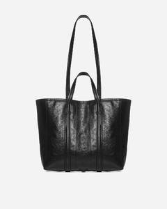 Barbers East-West medium leather tote bag