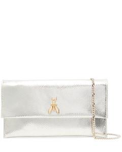 Disc 30 sesame leather shoulder bag