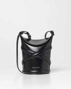 Black leather Burrow 22 shoulder bag