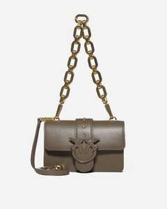 Love Mini Icon Maxi Chain leather bag