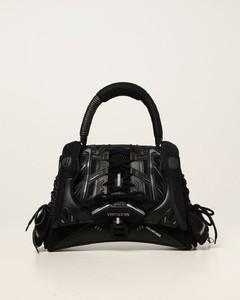 SneakerHead Top Handle bag in mesh