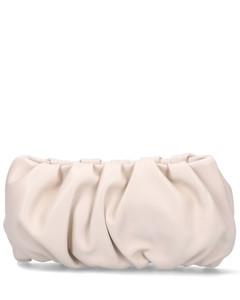 Bean Ruched Shoulder Bag