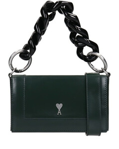 Alexandre Mattiussi Hand Bag In Green Leather