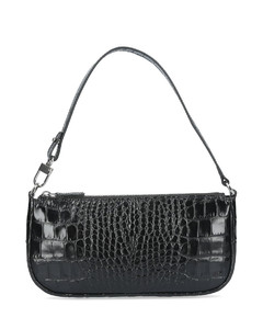 'Rachel' Croc-effect Shoulder Bag