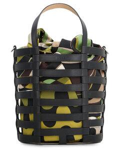 Oskaf suede shoulder bag with fringes