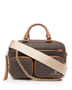 M+ Medium sequined canvas tote
