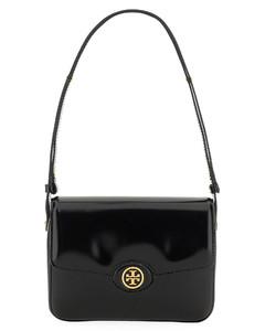 Rokcstud Leather Shoulder Bag