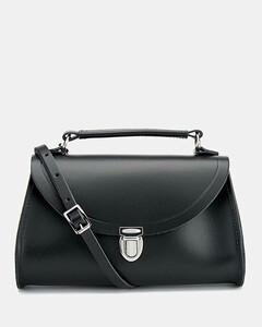 Women's Mini Poppy Shoulder Bag - Black