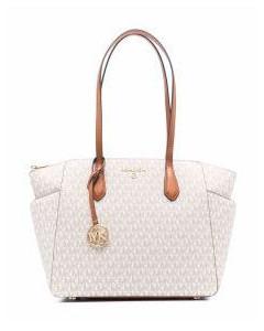 Demi Lune Bag in Brown Miel Leather
