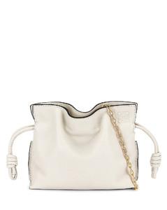 Flamenco Clutch Nano Bag in White