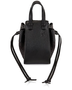 Hammock Anagram Mini Bag in Black