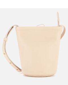 Women's Mini Zip Bucket Bag - Aglio