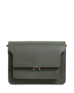Medium Saffiano Leather Trunk Bag