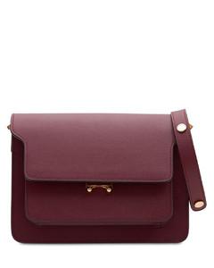 Medium Saffiano Leather Trunk Bag