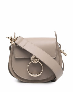 Joan Shoulder Bag in Fawn Brown Leather