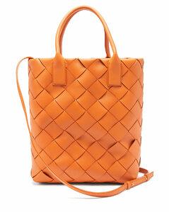 Maxi Cabat Intrecciato leather tote bag
