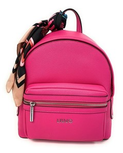 Platinum small metallic PVC tote bag