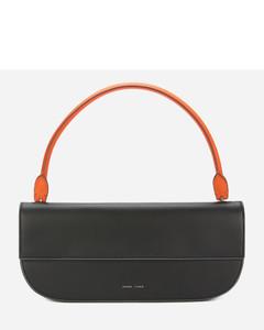 Women's Baguette Shoulder Bag - Fire/Black