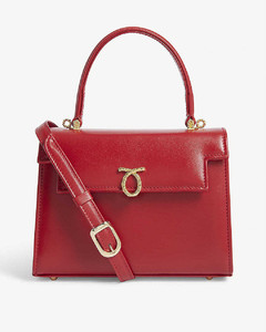 Judi leather tote bag
