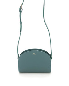 Handbag CHOLET leather logo pink