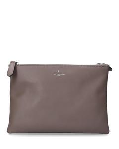 Handbag 3 ZIP BAG leather