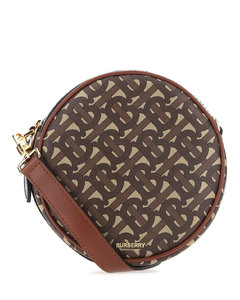 Black nappa leather Rose Edition crossbody bag