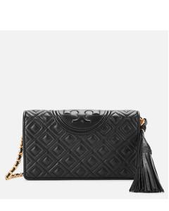 Women's Fleming Wallet Cross Body Bag - Black