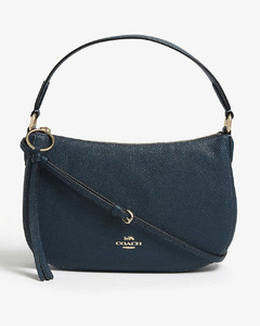 Sutton pebbled leather cross-body bag