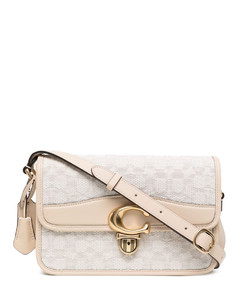 Hanna Leather Tote Bag in Pink
