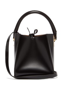 Nano Albion Cube leather bucket bag