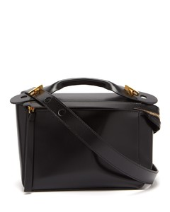 The Bolt leather box bag