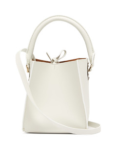 Albion Cube nano leather bucket bag