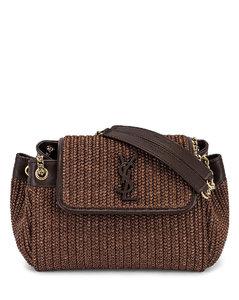 Small Nolita Chain Bag in Brown
