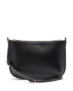 Sarah smooth-leather cross-body bag