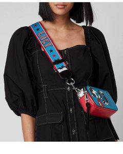 Women's Snapshot Peanuts Americana Bag - Blue Multi