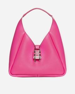 Burgundy leather Fab crossbody bag