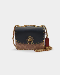 Kitty Argan Brown Leather Cross Body Bag for Women
