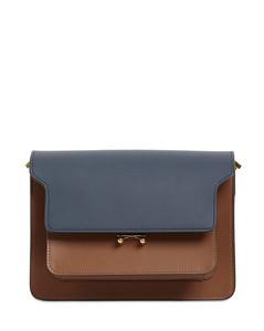 Medium Trunk Leather Shoulder Bag
