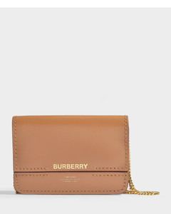 The Jody Clutch In Brown Smooth Calfskin