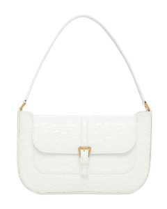 Miranda Croc Embossed Leather Bag